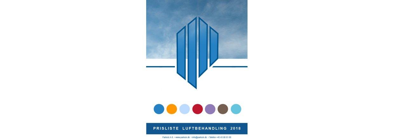 Ny prisliste: Parlock Luftbehandling 2018