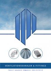 Nyt katalog på ventilationskanaler og fittings